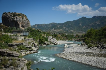 Albania Permet Big Rock View