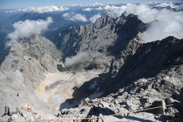 Germany Zugspitze View at summit