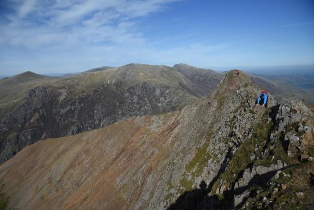 Wales Snowdonia Wide Ridge View