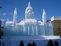SNOW SCULPTURE CAPITAL OF THE WORLD