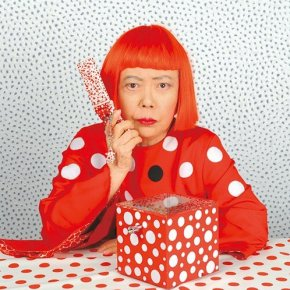YAYOI KUSAMA - MY LIFE IS A DOT LOST AMONG THOUSANDS OF OTHER DOTS