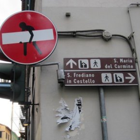 STREET ART FEATURING CLET IN ITALY