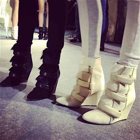 vogue uk september issue isabel marant booties