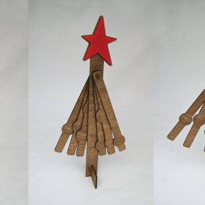 ALTERNATIVE CHRISTMAS TREE BY CARLA SZABO
