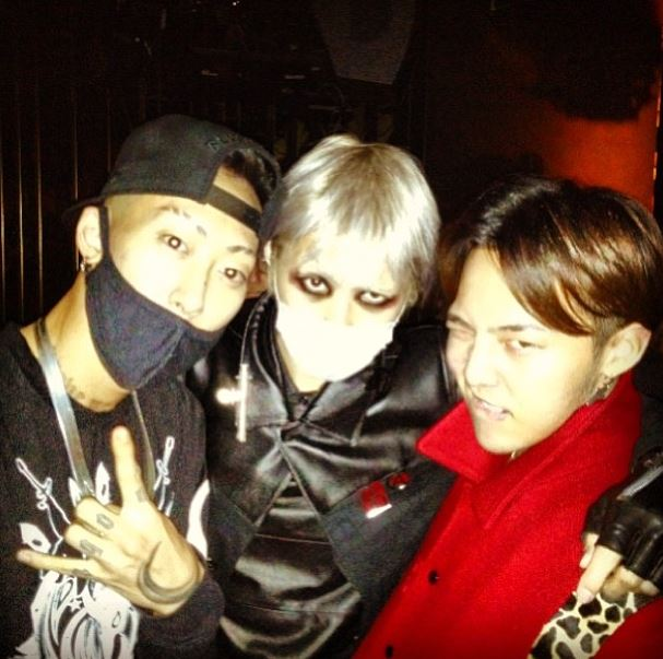 g-dragon and his friends bajawoo