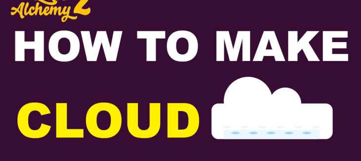 How to Make a Cloud in Little Alchemy 2