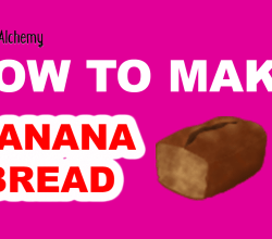How to Make Banana Bread in Little Alchemy