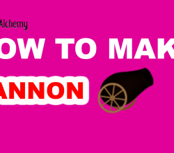How to Make a Cannon in Little Alchemy