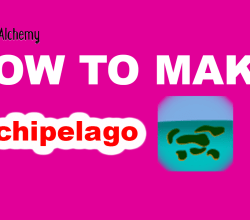 How to make Archipelago in Little Alchemy