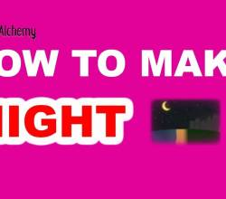 How to Make a Night in Little Alchemy