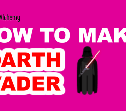 How to Make darth vader in Little Alchemy