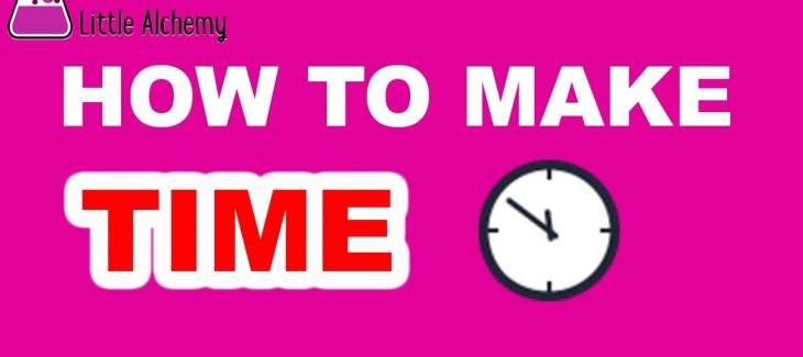 How to Make Time in Little Alchemy