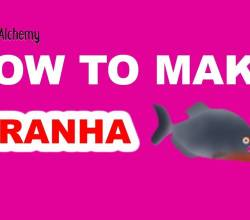 How to Make a Piranha in Little Alchemy
