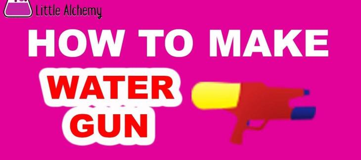 How to Make a Water Gun in Little Alchemy