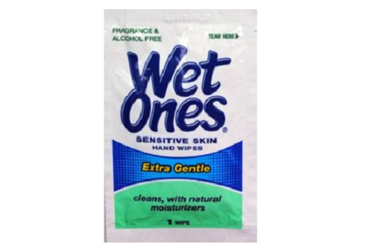 wet ones wipe