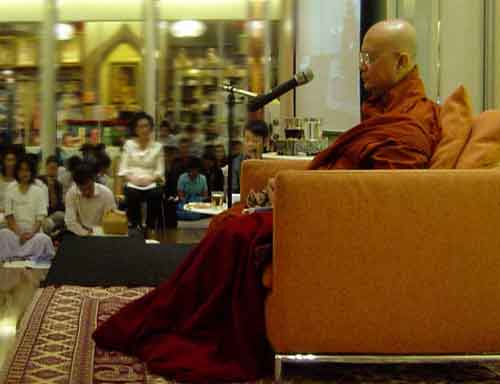 Sayadaw U Jotika - English Talk (1/6)