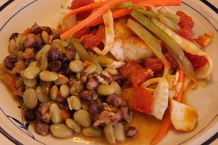 fish and succotash