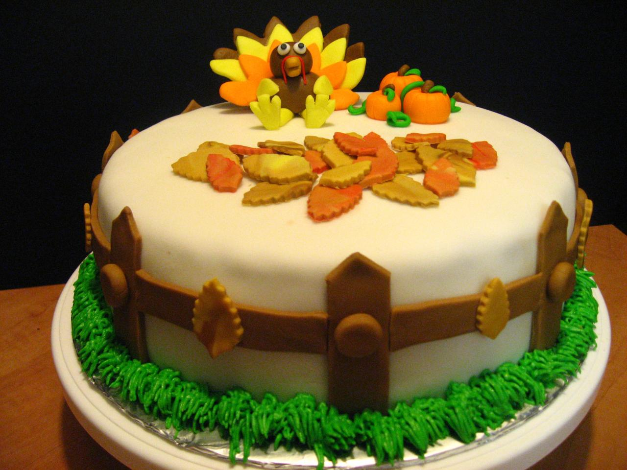 Thanksgiving Cakes – Decoration Ideas