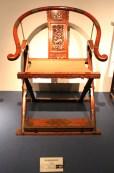 Klappstuhl aus der Ming-Dynastie (1368-1644), Shanghai Museum
