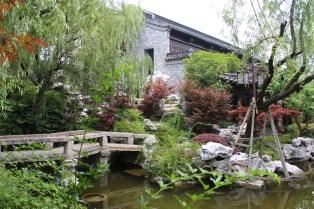 Garten im Centre & Residence Hotel, Yangzhou