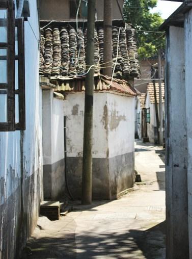 Verwinkelte Gassen in Jinxi