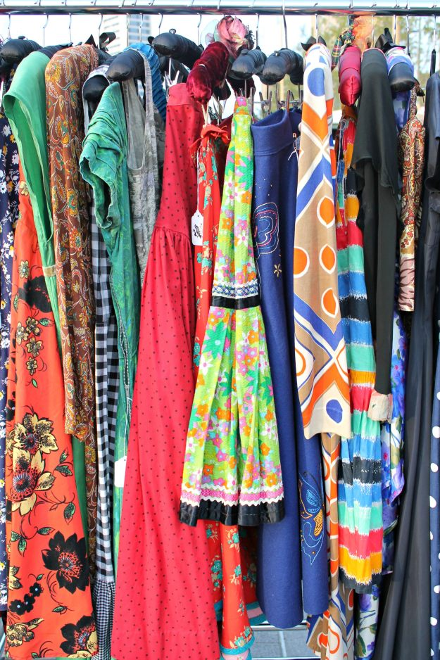 Vintage-dresses-at-the-classic-car-boot-sale-London-photo-by-Little-Big-Bell