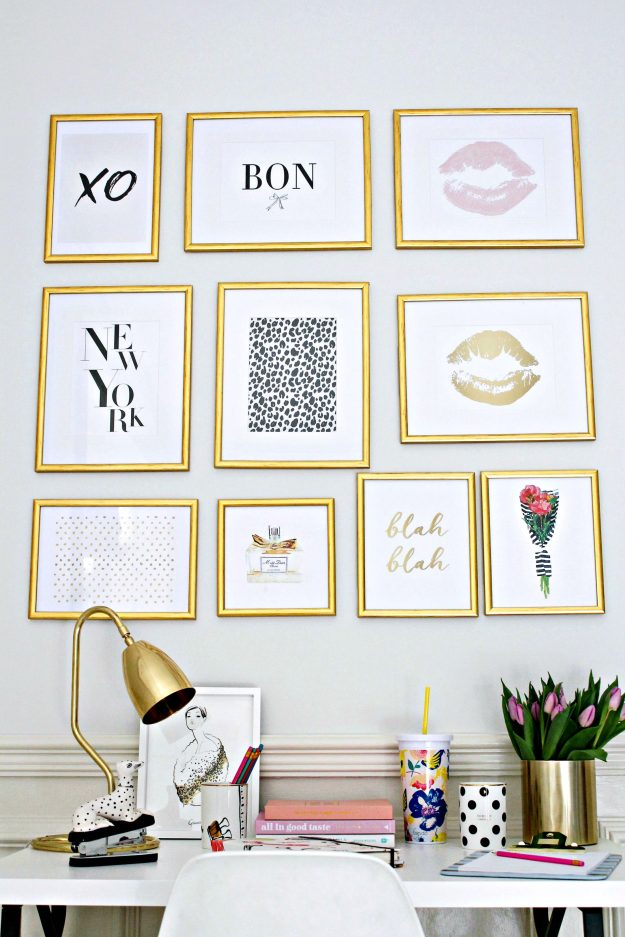 Gallery-wall-3-in-workspace-styling-and-photo-by-Little-Big-Bell