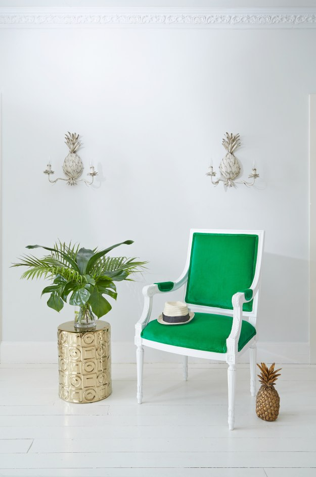 Green-velvet-chair-from-the-French-Bedroom-company