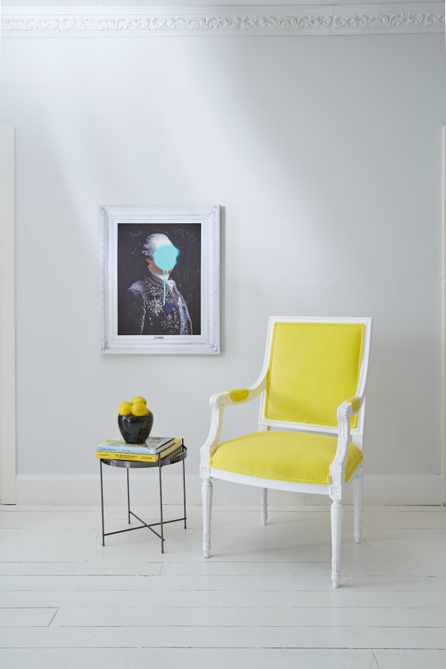 Yellow-velvet-chair-French-bedroom-company-featured-on-Little-Big-Bell