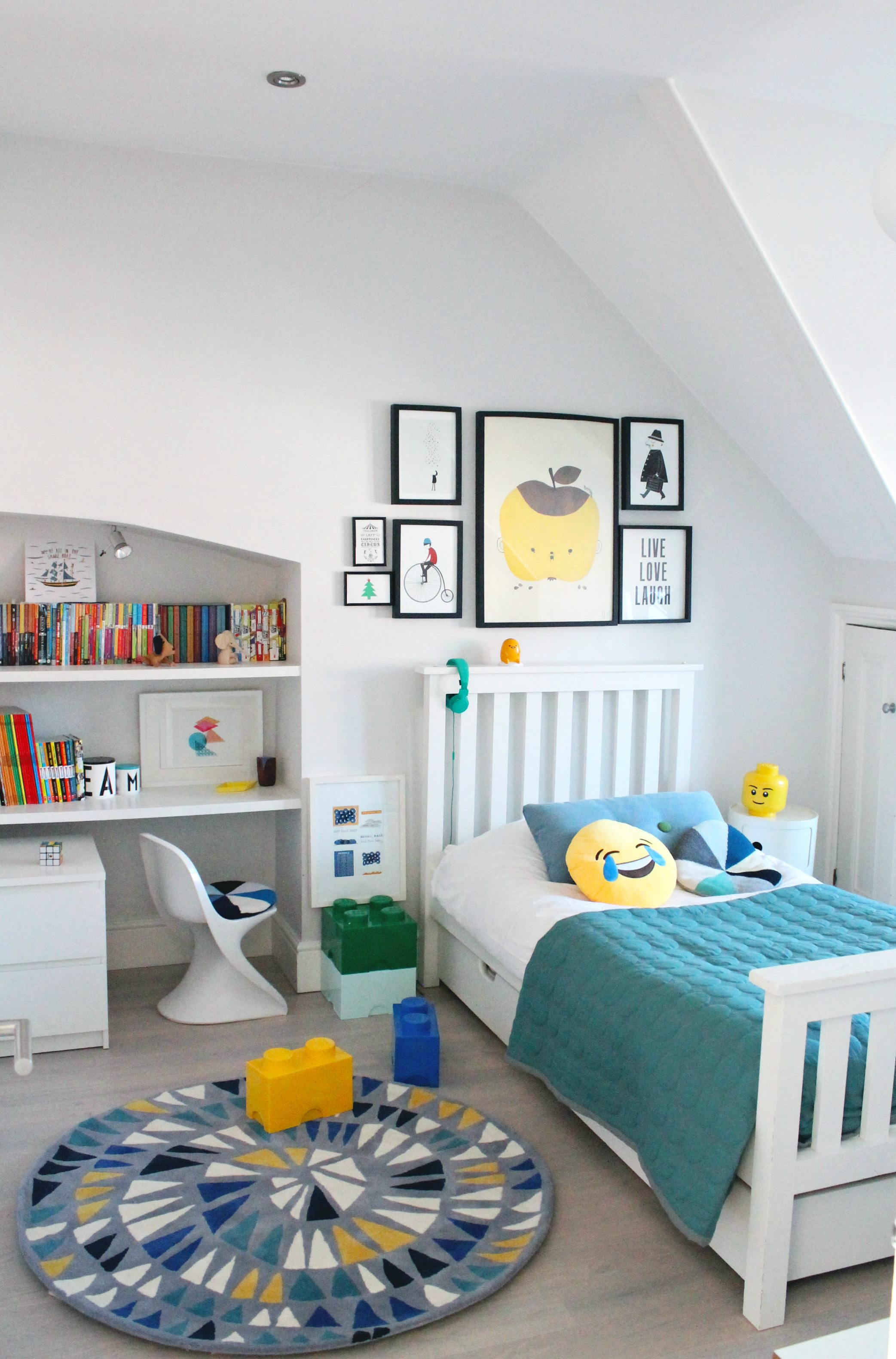 LittleBIGBELL Boys Bedroom Ideas Decorating With A Rug