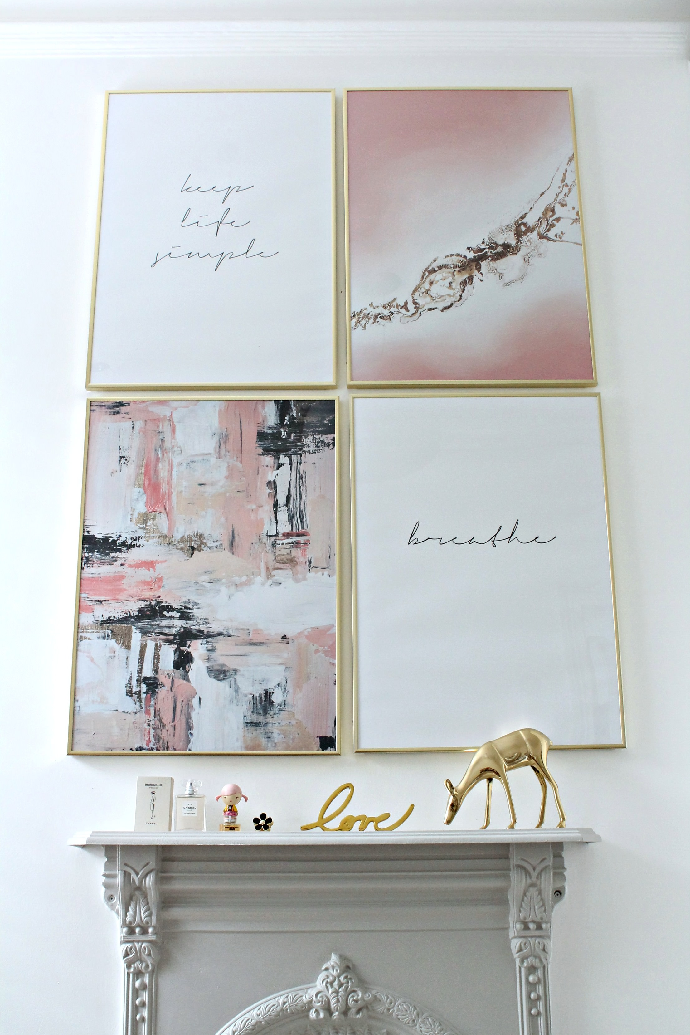 LittleBIGBELL Trend In Art Print Gallery Wall With Desenio