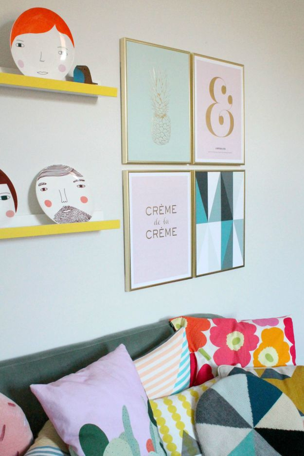 wall-gallery-with-pastel-colour-prints-little-big-bell