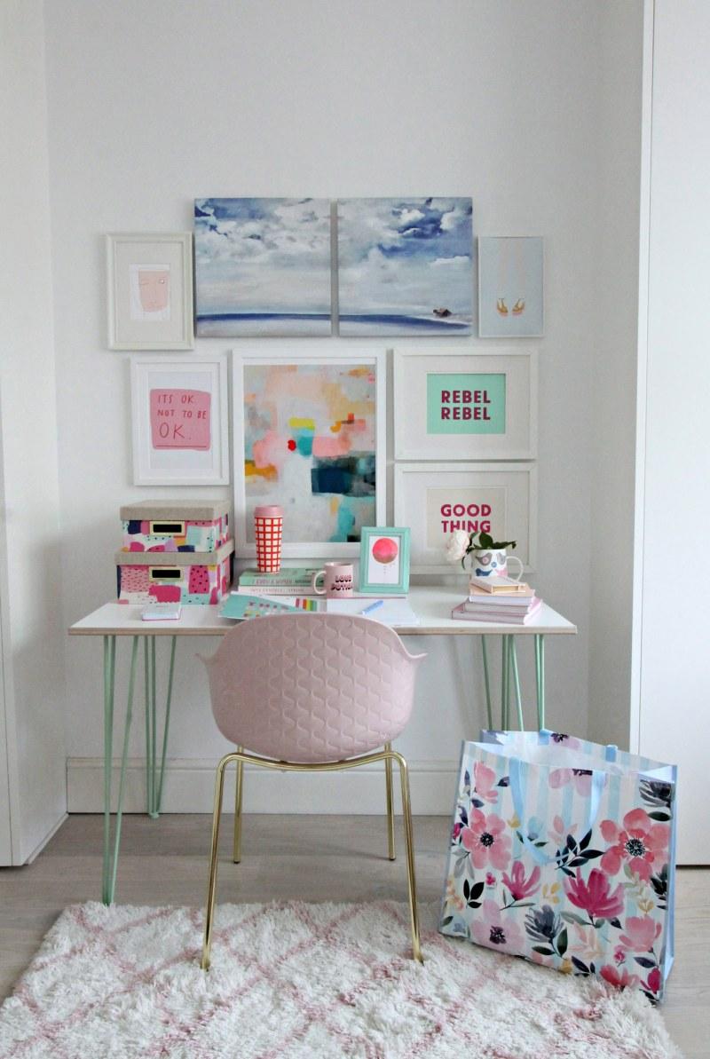 style a desk