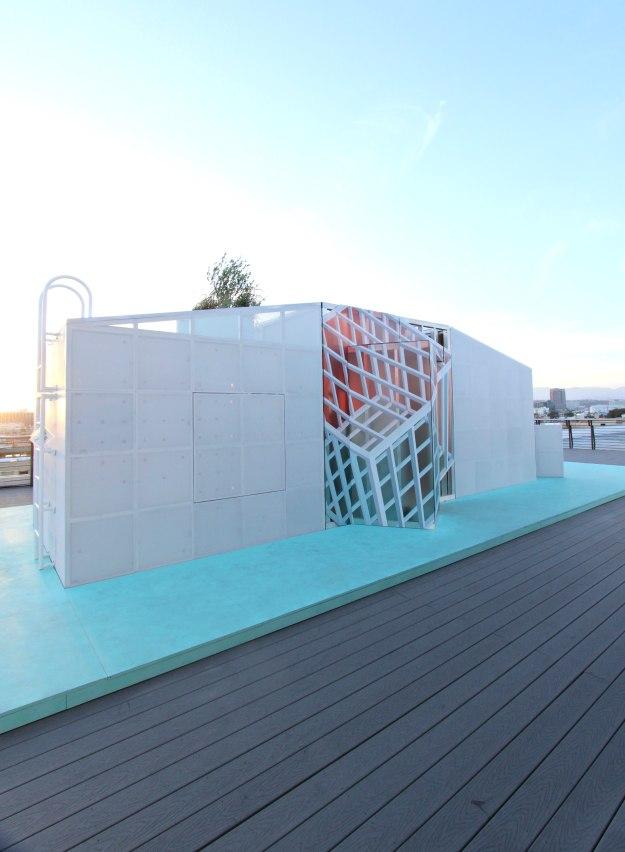 MINI Urban Cabin LA Design festival