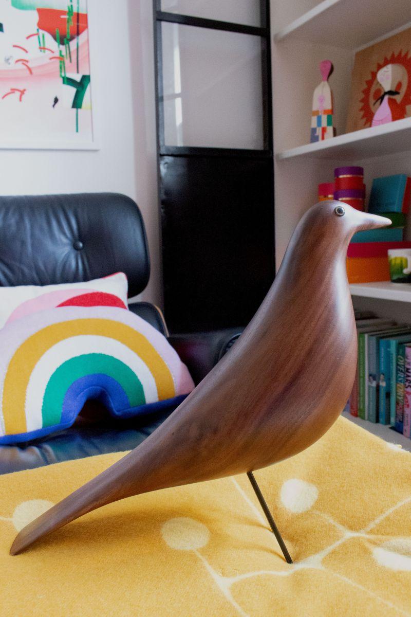Eames walnut bird