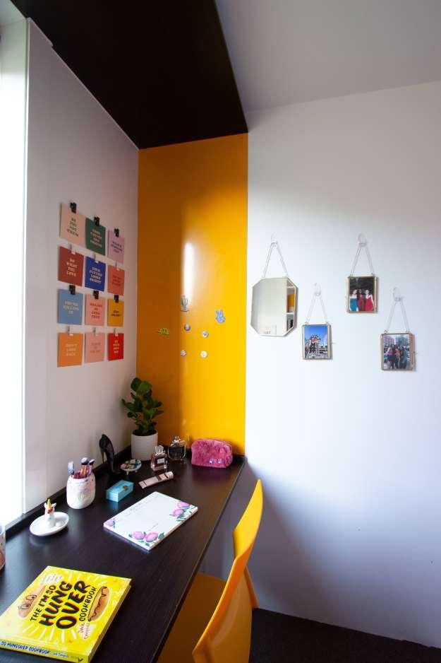 student university room
