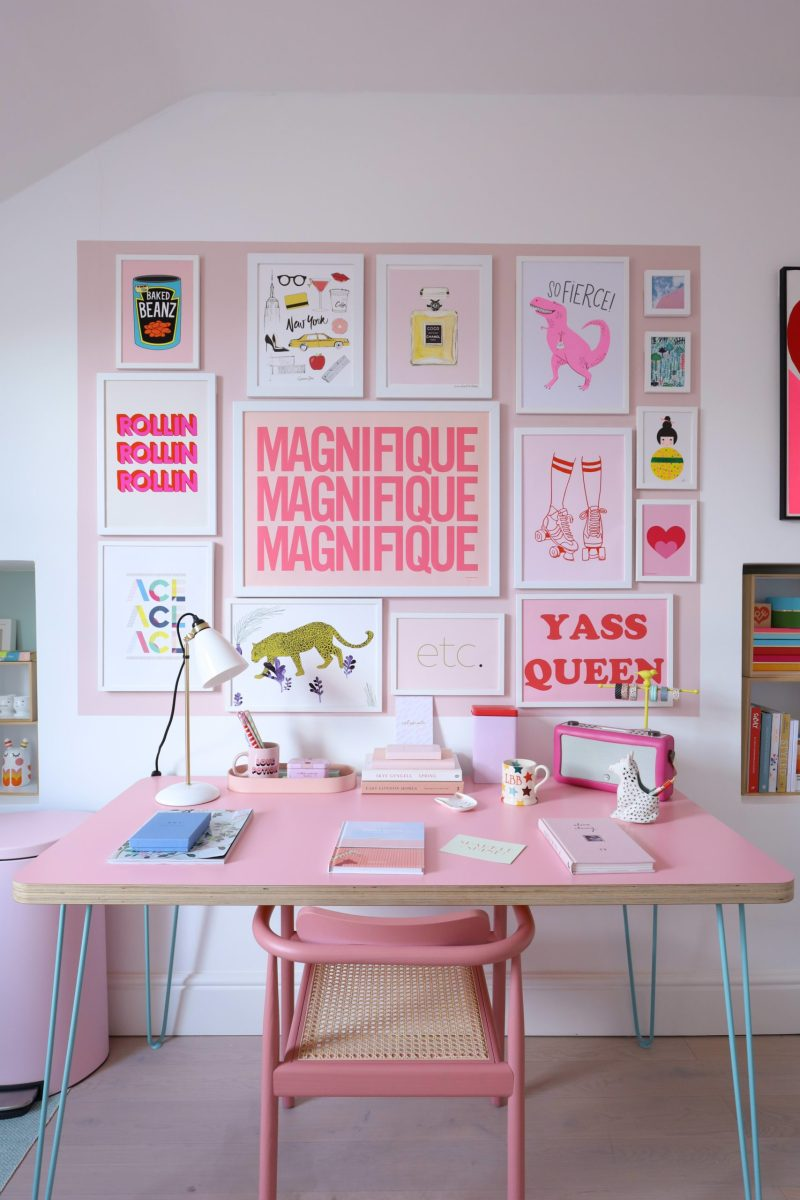 working from home decor