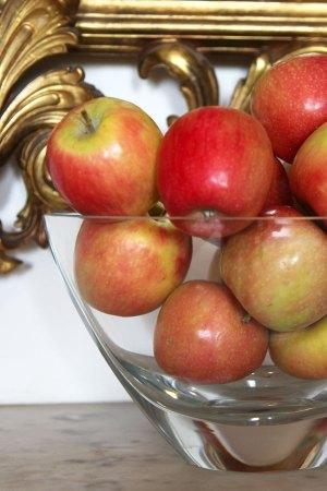 Apple and vanilla bean puree