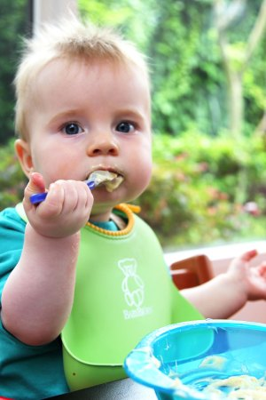 Sugar-free Custard for baby - make it yourself and avoid sugar in the store bought options