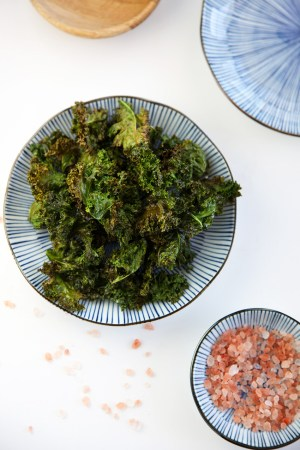 Kale Chips - super light, super crispy and deliciously healthy