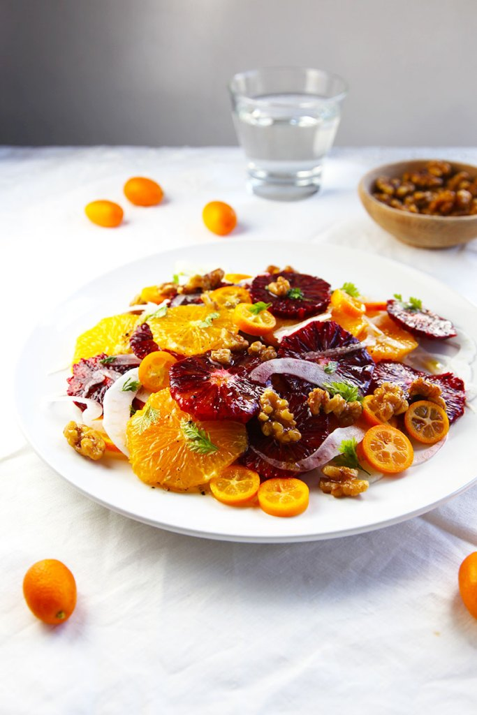 Citrus Salad with fennel and walnuts - looks impressive but its super simple