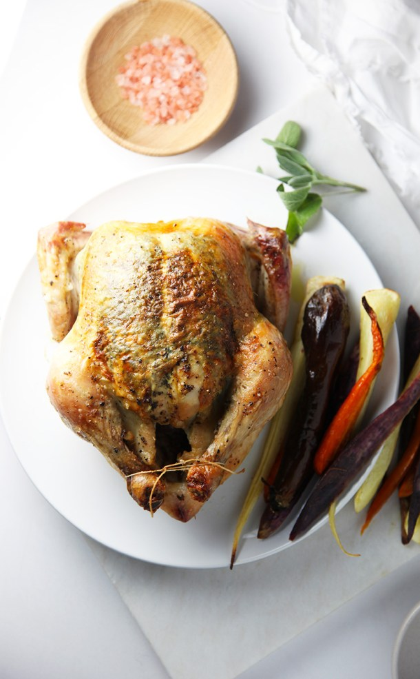 Roast Chicken with Sage