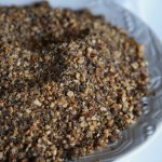 Homemade Nutty Dukkah - enjoy as is with olive oil and turkish bread or add to your favourite soups and salads
