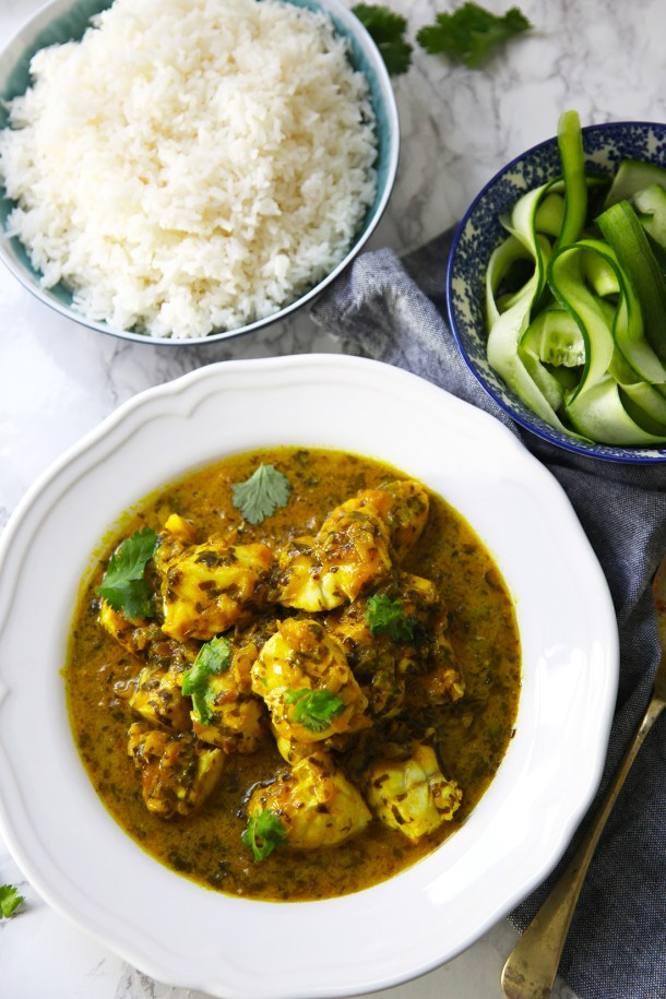 Tamarind and coriander fish is a delicious main dish that the whole family will love