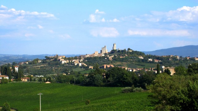 Views of San Gimignano, the Town of Fine Towers