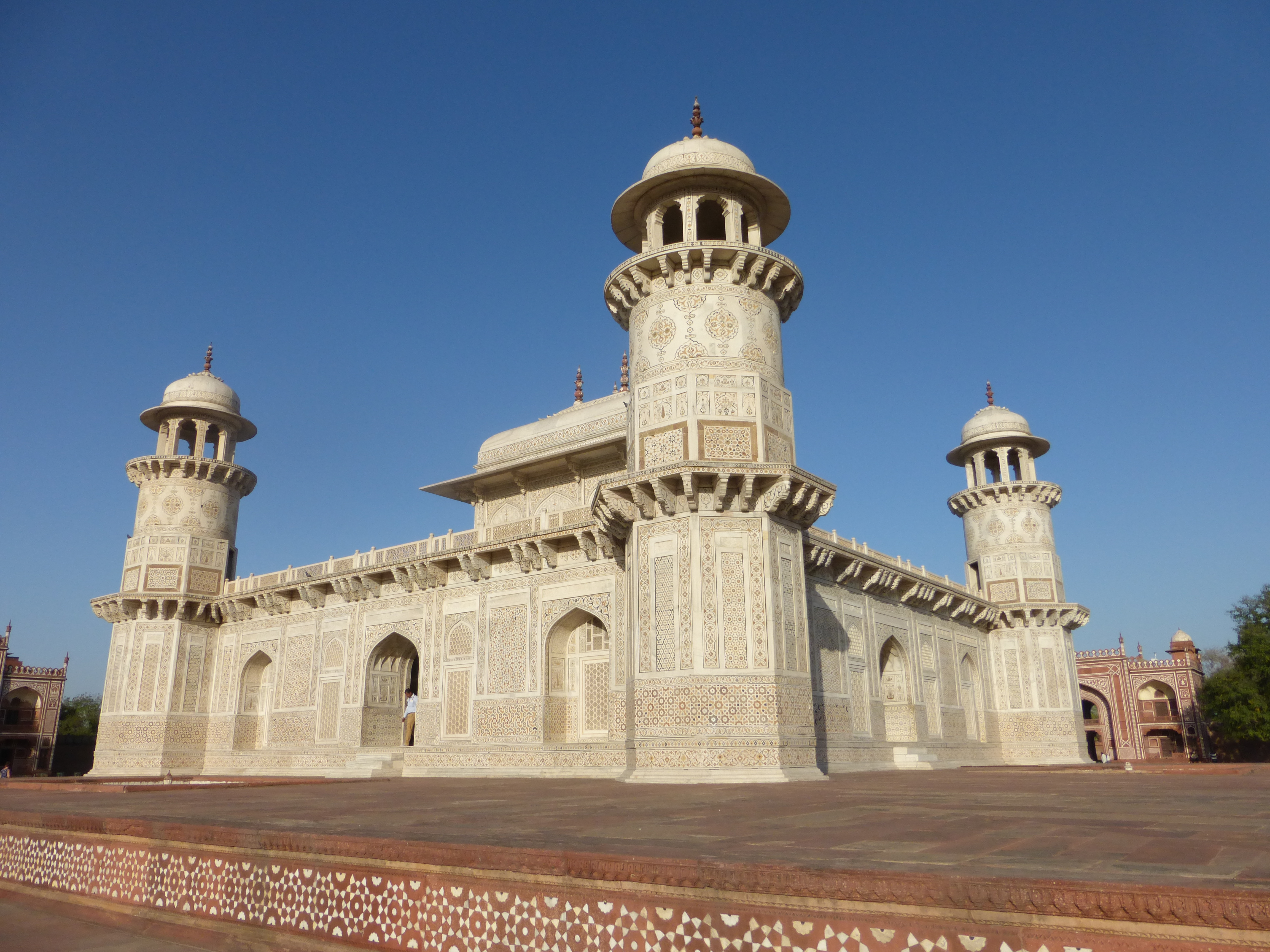 The Tomb of I'timad-ud-Daulah, also known as 'Baby Taj'