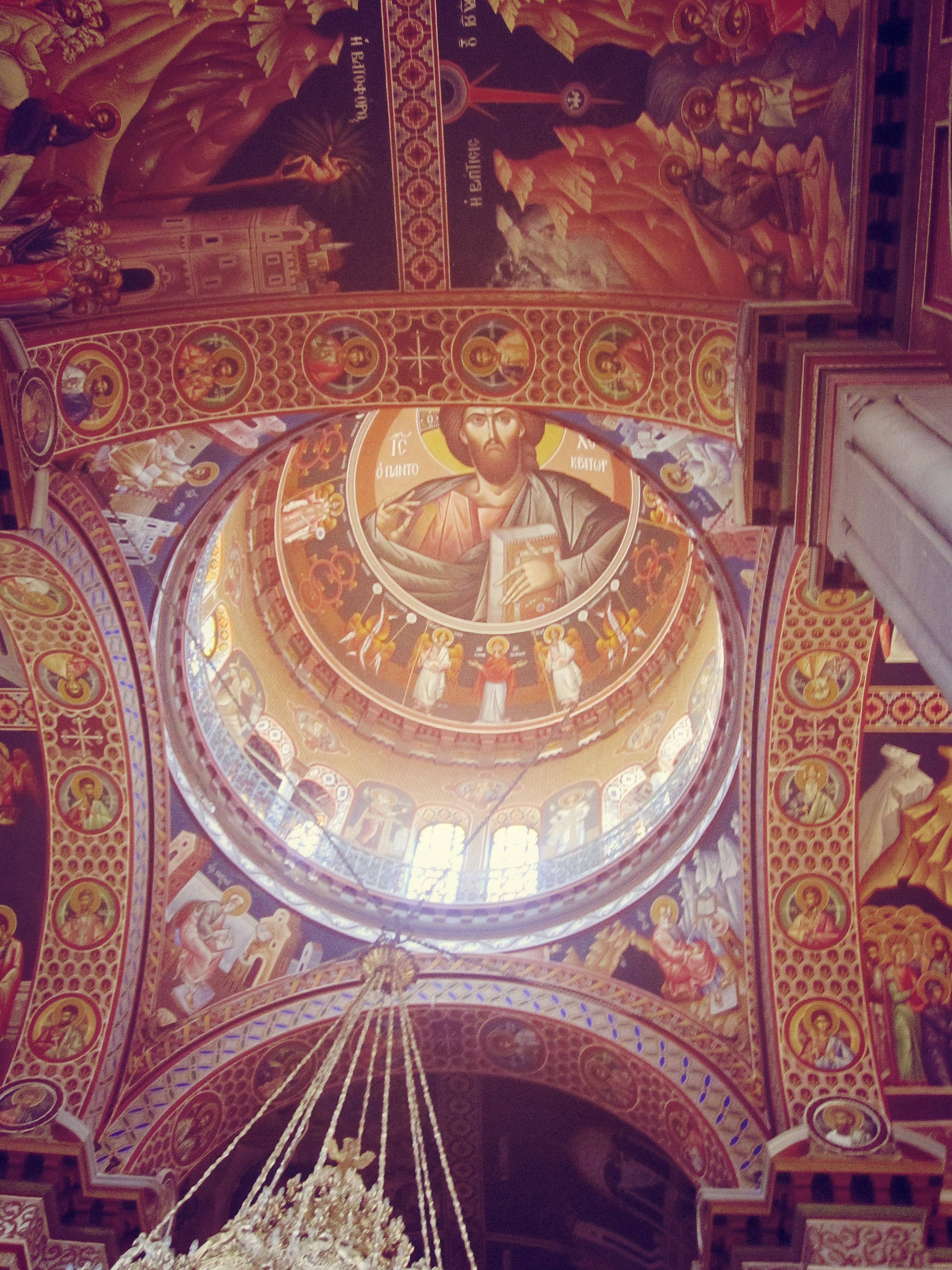 The Agios Minas Greek Orthodox Cathedral in Heraklion