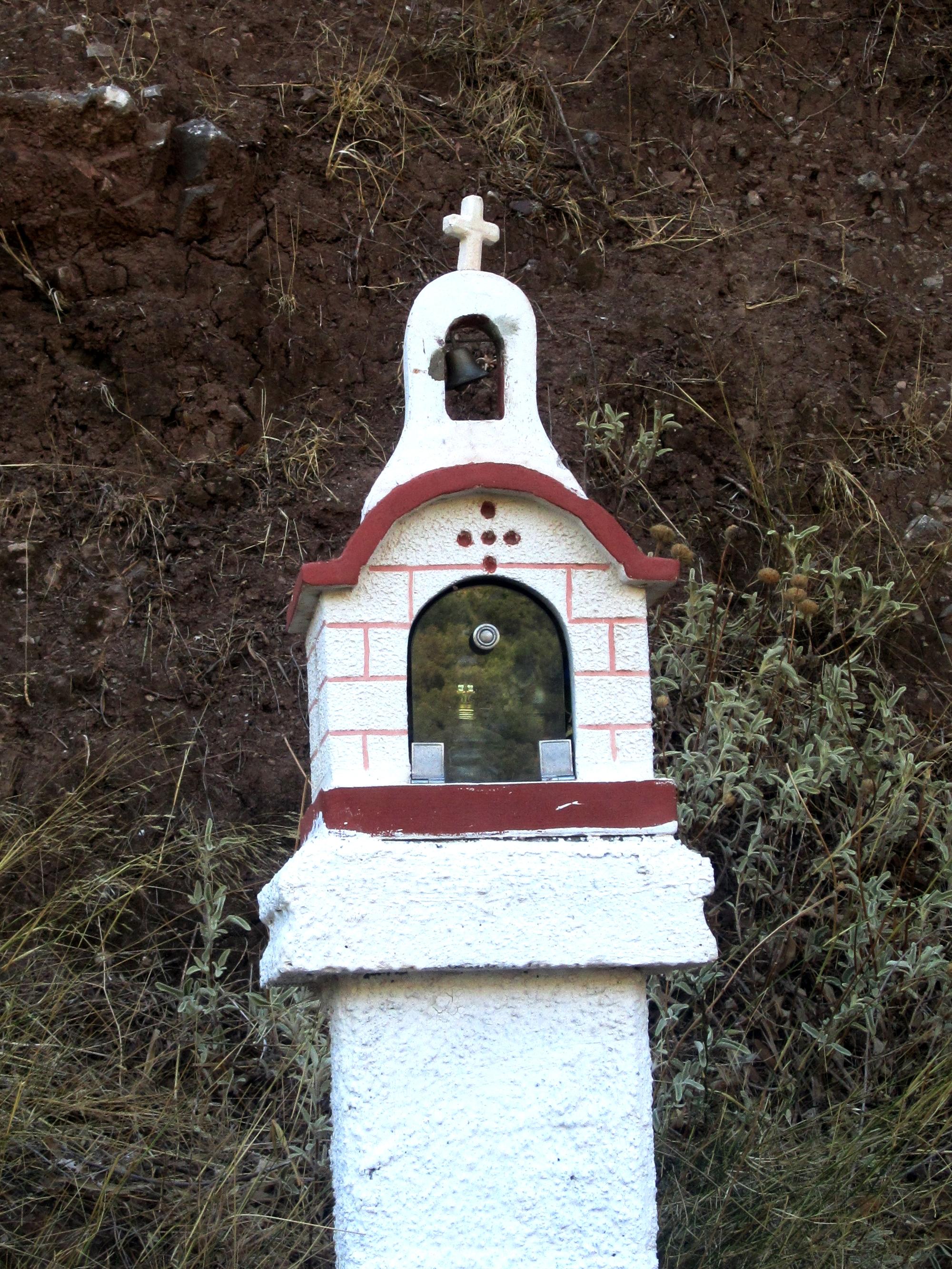 Roadside chapel crete