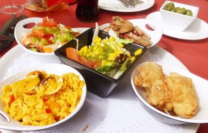 Tapas lunch Seville