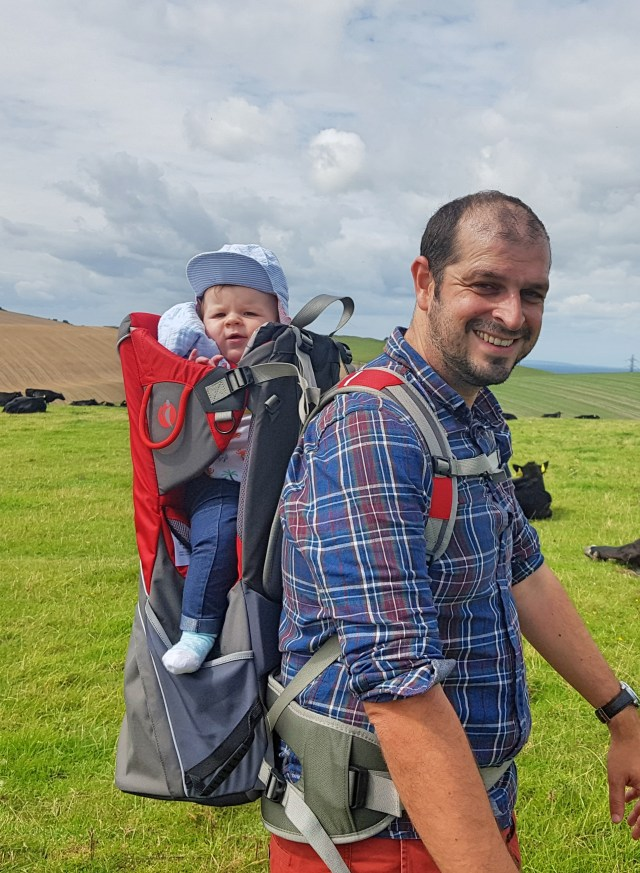 The Little Life Cross Country Carrier is suitable for children aged 6 months to around 3 years. Although in Rosie's case, we're nearing the end at around 2 years.